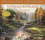 Thomas Kinkade Special Collector's Edition 2021 Deluxe Wall Calendar: Reflections Cover Image