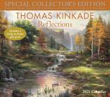 Thomas Kinkade Special Collector's Edition 2021 Deluxe Wall Calendar: Reflections Cover Image