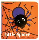 Little Spider: Finger Puppet Book: (Finger Puppet Book for Toddlers and Babies, Baby Books for Halloween, Animal Finger Puppets) (Little Finger Puppet Board Books) Cover Image