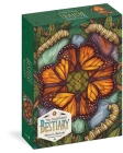 The Illustrated Bestiary Puzzle: Monarch Butterfly (750 pieces) (Wild Wisdom) Cover Image