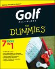 Golf All-In-One for Dummies Cover Image