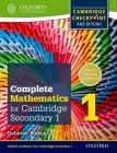 Complete Mathematics for Cambridge Secondary 1 Student Book 1: For Cambridge Checkpoint and Beyond Cover Image