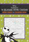The Nightmare Before Christmas Word Search and Coloring Book (Coloring Book & Word Search) Cover Image