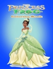 The Princess and the Frog Coloring Book Cover Image