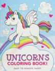 Unicorns Coloring Book Cover Image