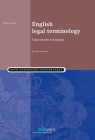 English Legal Terminology: Legal Concepts in Language (Fourth edition) Cover Image