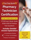 Pharmacy Technician Certification Study Guide 2020 and 2021: PTCB Exam Study Guide 2020-2021 and Practice Test Questions [Updated for the New Outline] Cover Image