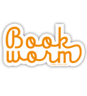 Book Worm (Gold) (Sticker) Cover Image
