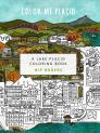 Color Me Placid: A Lake Placid Coloring Book Cover Image