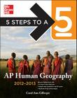 5 Steps to a 5 AP Human Geography Cover Image