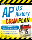 CliffsNotes AP U.S. History Cram Plan Cover Image