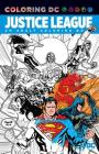Justice League: An Adult Coloring Book Cover Image