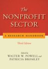 The Nonprofit Sector: A Research Handbook, Third Edition Cover Image