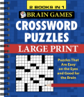 Brain Games Crossword Puzzles Large Print Cover Image