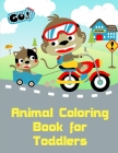 Animal Coloring Book for Toddlers: Funny Image age 2-5, special Christmas design Cover Image