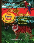 I am learning about Jungle Animals Fun Facts Book for Kids ages 6-12: Beautiful Pages Cute Designs Fun and Easy Playful Cover Image