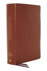 Nasb, Charles F. Stanley Life Principles Bible, 2nd Edition, Genuine Leather, Brown, Comfort Print: Holy Bible, New American Standard Bible Cover Image