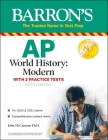 AP World History: Modern: With 2 Practice Tests (Barron's Test Prep) Cover Image