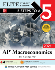 5 Steps to a 5: AP Macroeconomics 2021 Elite Student Edition Cover Image
