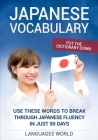 Put the dictionary down: Use These Words to Break Through Japanese Fluency in just 90 days (Japanese Vocabulary) Cover Image