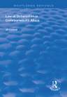 Law of Defamation in Commonwealth Africa (Routledge Revivals) Cover Image