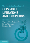 The Cambridge Handbook of Copyright Limitations and Exceptions Cover Image