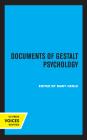 Documents of Gestalt Psychology Cover Image