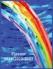 Planner 2021-2022-2023: Weekly and Monthly Planner and Organizer Calendar Schedule 2021-2022-2023 Academic Planner Large Cover Image