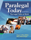 Paralegal Today: The Legal Team at Work, Loose-Leaf Version Cover Image