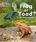 Frog or Toad? (Collins Big Cat Phonics) Cover Image