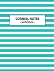 Cornell Notes Notebook: Structured Notebook Note Taking with Graph Paper Quad Grid Note Taking System Cornell Notebook 8.5 x 11 Cover Image