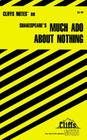 CliffsNotes on Shakespeare's Much Ado About Nothing Cover Image