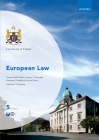European Law (Law Society of Ireland Manuals) Cover Image