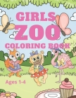 Zoo Coloring Book: Girls Ages1-4 Cover Image