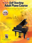 Alfred's Self-Teaching Adult Piano Course: The New, Easy and Fun Way to Teach Yourself to Play, Book & CD Cover Image