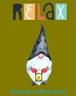 Relax: Kid's Fantastic Christmas Drawing Book Cover Image