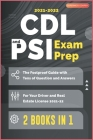 CDL and PSI Exam Prep [2 Books in 1]: The Foolproof Guide with Tens of Question and Answers for Your Driver and Real Estate License (2021-22) Cover Image