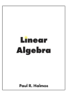 Linear Algebra: Finite-Dimensional Vector Spaces Cover Image