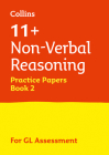 Letts 11+ Success – 11+ Non-Verbal Reasoning Practice Test Papers - Multiple-Choice: for the GL Assessment Tests: Book 2 Cover Image