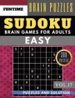 SUDOKU Easy: Jumbo 300 easy SUDOKU with answers Brain Puzzles Books for Beginners (sudoku book easy Vol.17) Cover Image