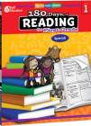 180 Days of Reading for First Grade (Spanish): Practice, Assess, Diagnose (180 Days of Practice) Cover Image