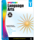 Spectrum Language Arts, Grade 1 Cover Image