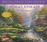 Thomas Kinkade Special Collector's Edition with Scripture 2021 Deluxe Wall Calen: Reflections Cover Image