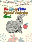 The Tale of Peter Rabbit Coloring Book: Best Coloring Book ever An Adult Coloring Book of 50+ unique Rabbit Designs with little bit Mandala Style awes Cover Image