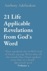 21 Life Applicable Revelations from God's Word: