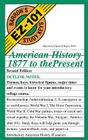 American History, 1877 to the Present (Barron's Easy 101 Study Keys) Cover Image