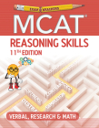 Examkrackers MCAT 11th Edition Reasoning Skills: Verbal, Research & Math Cover Image