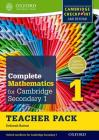 Complete Mathematics for Cambridge Secondary 1 Teacher Pack 1: For Cambridge Checkpoint and Beyond Cover Image