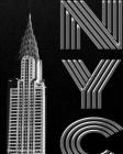 Iconic Chrysler Building New York City creative drawing journal Cover Image