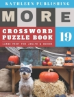 Crosswords Large Print: crosswords for the elderly - More Full Page Crosswords to Challenge Your Brain (Find a Word for Adults & Seniors) - ha Cover Image
